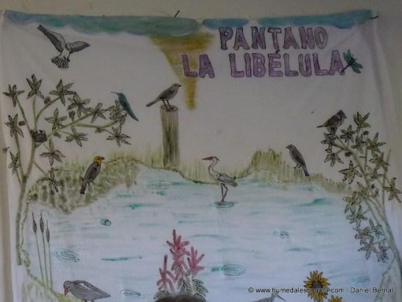 Pintura del Pantano La Libélula