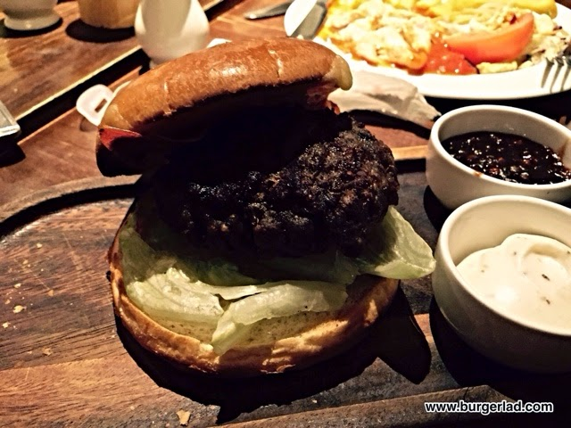 Chef and Brewer Wagyu Burger