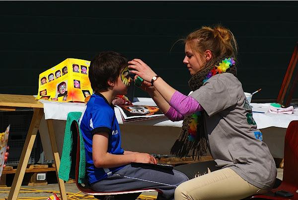 kinderanimatie op MTB Kids Challenge Roeselare