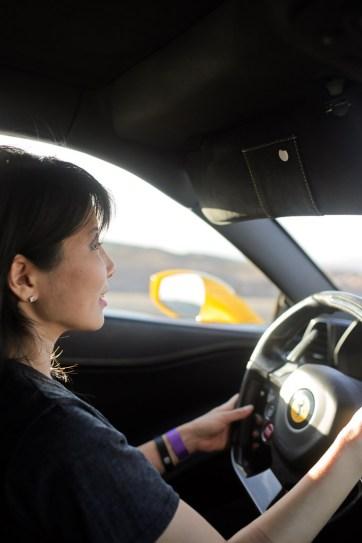 Las Vegas Ferrari Test Drive.