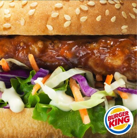 Burger King Southern Pork and Slaw