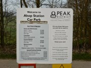 Alsop Station Car Park Charges On The Tissington Trail