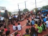 La comunidad El Sombrero disfrutó de un día musical y recreativo