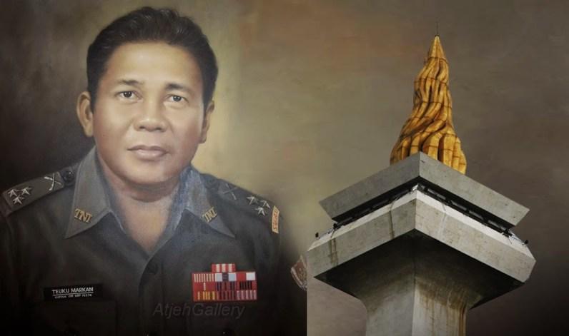 Teuku Markam, penyumbang 28 emas dari 38 kg emas Monas Jakarta