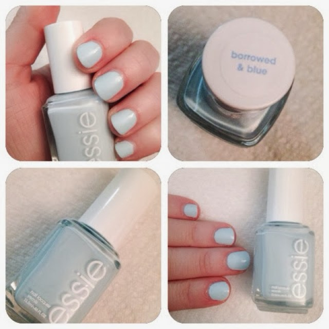 Essie Borrowed & Blue Girllovesgloss.com