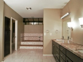Master bathroom of this Sun Lakes AZ Homes for Sale