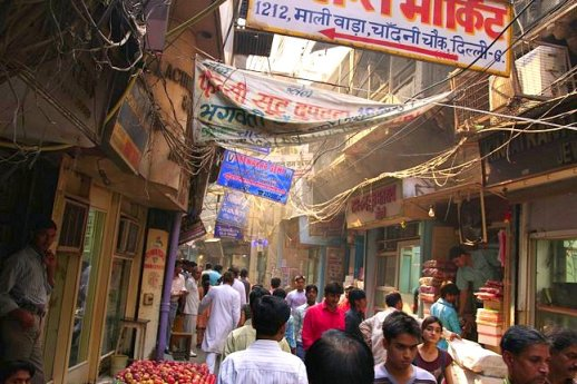 Shopping in Chandni Chowk