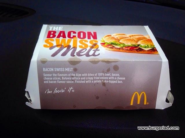 McDonald's Bacon Swiss Melt 2014