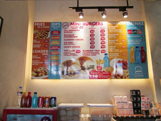 slammin mini burgers promenade greenhills