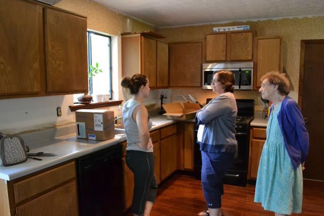 kitchen cabinet prep
