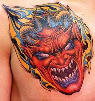 Devil Tattoos