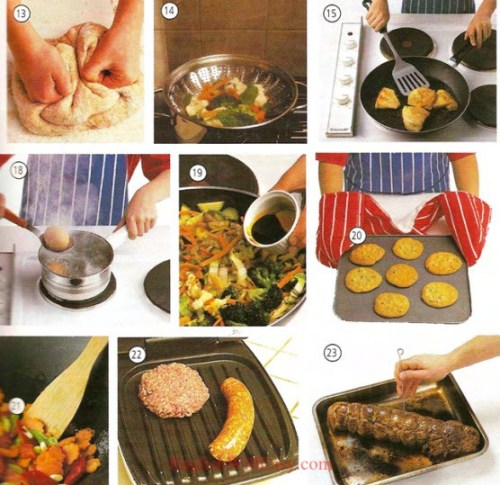 Cooking - Food - Picture Dictionary
