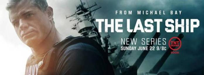 "Cartel promocional de ""The last ship"""