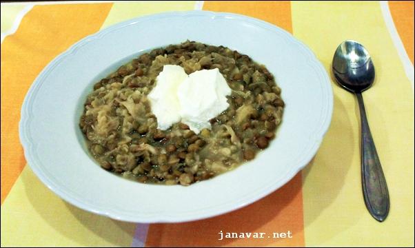 Kochbuchmittwoch: Linsensuppe mit Kraut