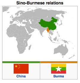Burma - China Relations