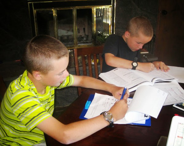 homeschooling and complaining kids