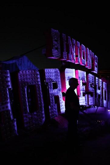 The Neon Museum in Las Vegas.