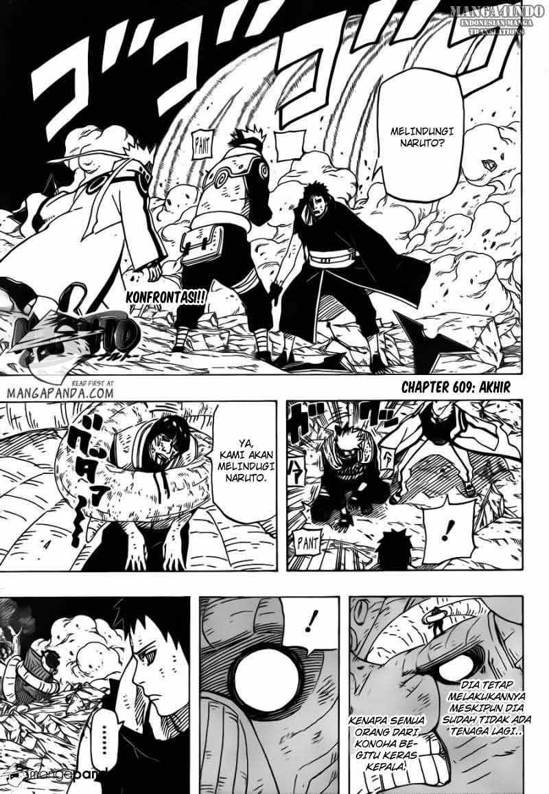 01 Naruto 609   Akhir