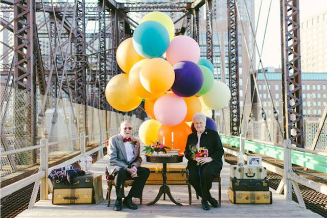 #相伴走過一甲子歲月:可愛老夫妻以『天外奇蹟』為靈感拍攝周年紀念照 1