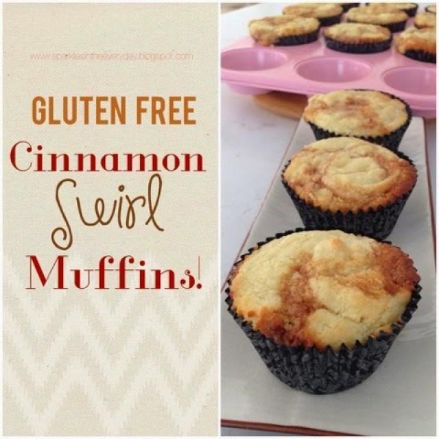 Gluten Free Cinnamon and Honey Swirl Muffins