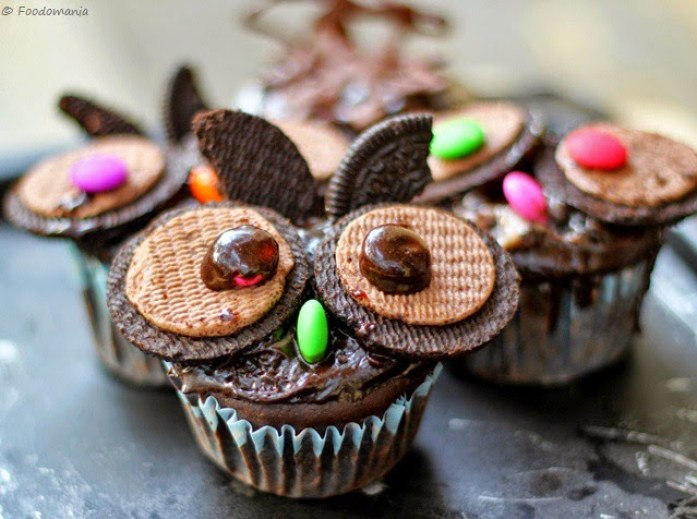 Oreo Owl Cupcake Recipe Tutorial | Fun Halloween & Easter Treats