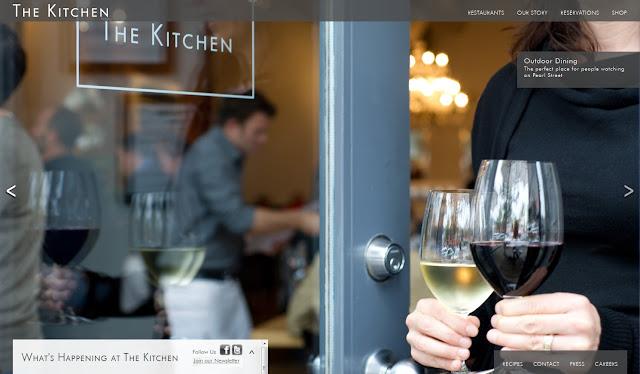 *餐廳官方網站也能那麼攝影味 The Kitchen Community Web Site 2