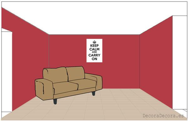 Cómo y de qué colores pintar paredes