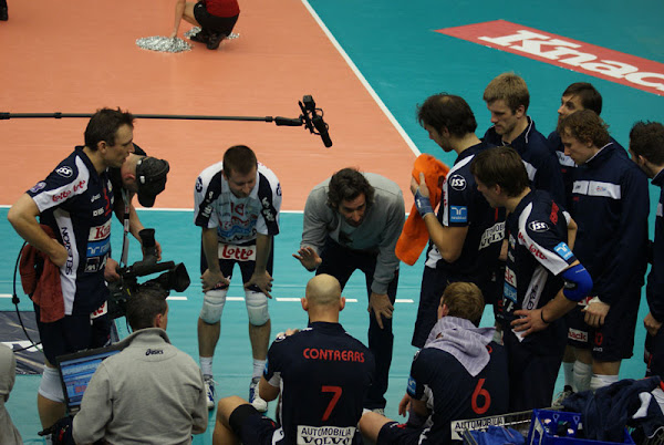 Time-out volleybal