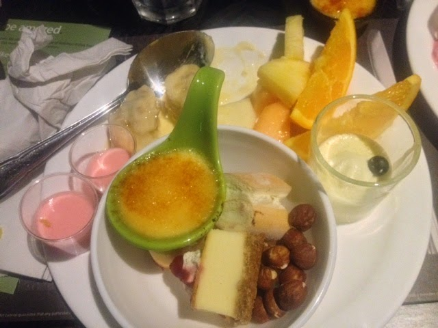 A selection of desserts from Global Buffet in Ilford