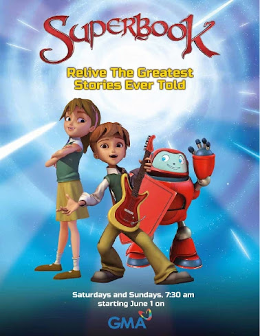 SuperBook on GMA
