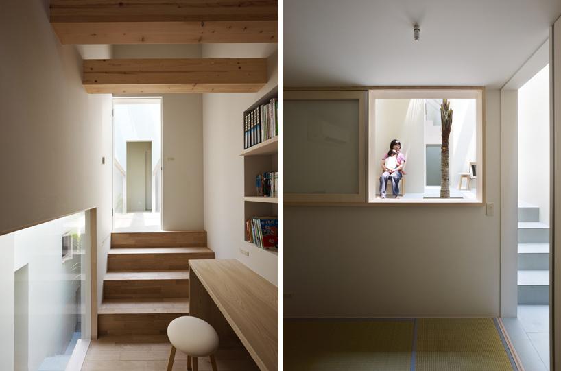 *建築師 Fujiwarramuro 居家住宅室內的戶外空間:日本 goido 中央庭園! 6