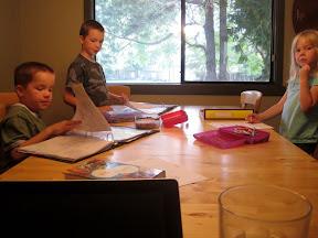 homeschooling circle time
