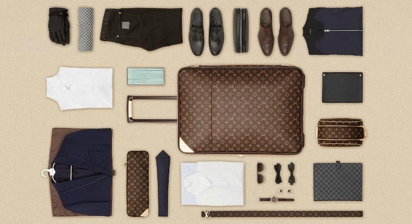 *LV行李箱包裝藝術:Louis Vuitton 路易威登「The Art of Packing 2 」 2