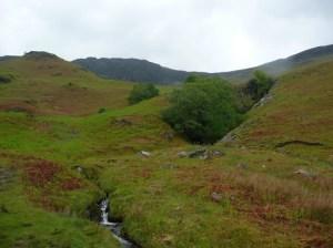 Looking back to Maiden Moor