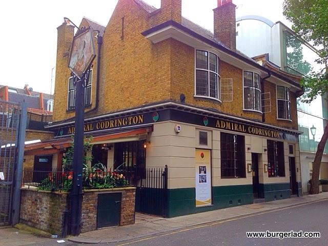 The Admiral Codrington's Burger
