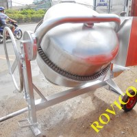 Máy trộn bê tông inox 500 lít chuyển giao tới Bình Chánh