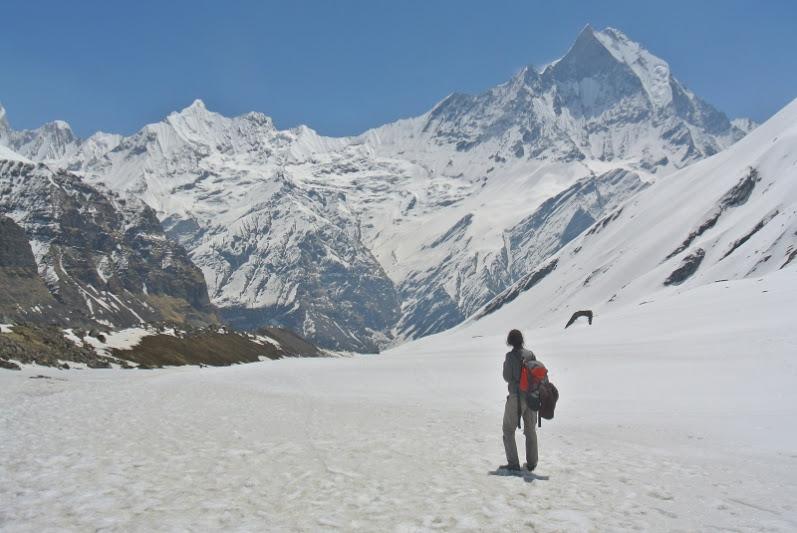 Posiblemente la peor mochila para viajar al Annapurna