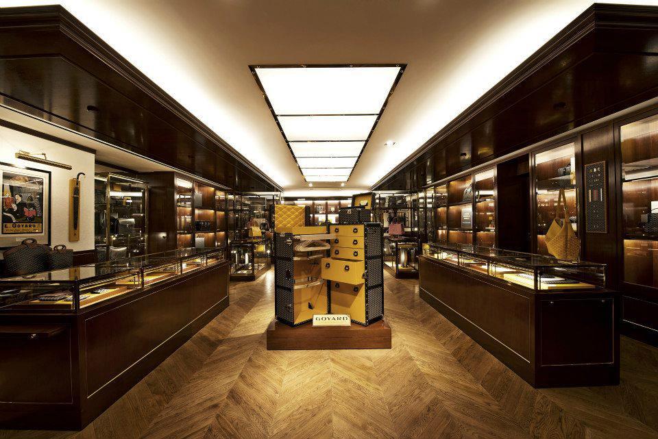 *法國百年品牌戈雅Goyard:低調進駐台北麗晶首間旗艦店!  1