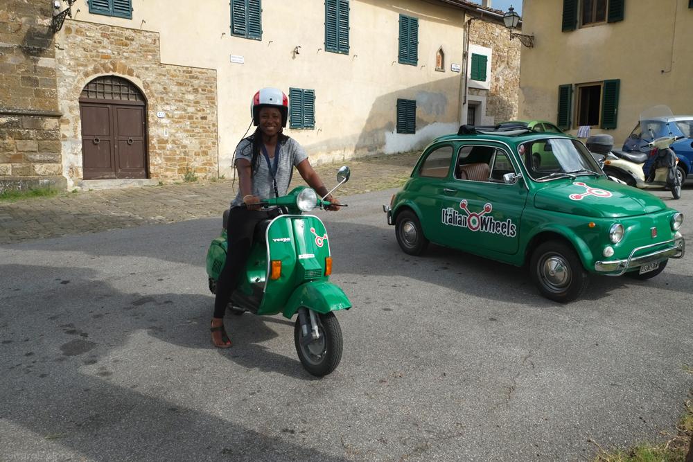 Tuscan Countryside Vespa