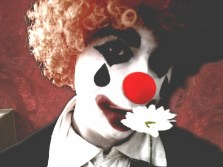 portrait, Bryan Cutts as Monsieur Clown