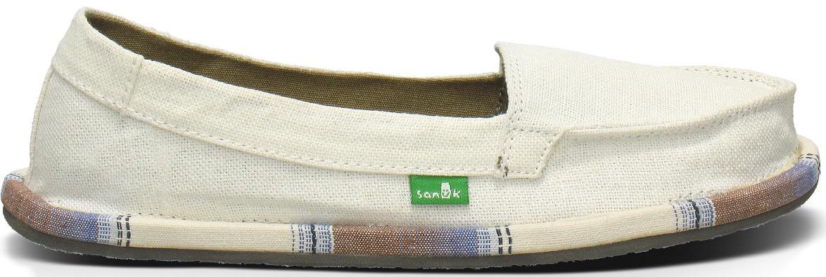 *Sanuk自然簡約風潮:SHORTY WRAPPED帆布懶人鞋! 3