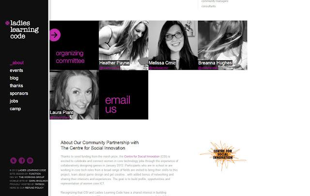 *用色簡單帶出精緻感的 Ladies |Ladies Learning Code Web Site 2