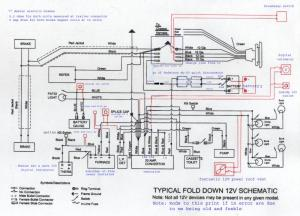 RVNet Open Roads Forum: Folding Trailers: Coleman Fleetwood 12 volt system problem