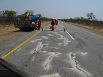 Image result for Namibia opens Bitumen-coated road