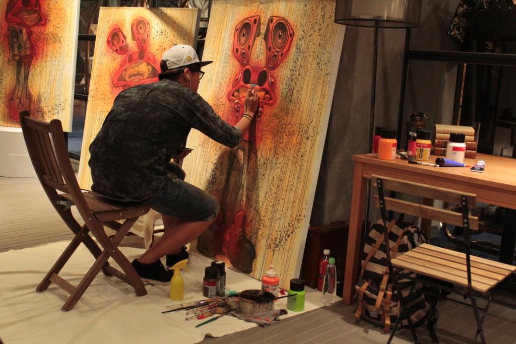 *「想‧ 響‧ 享」塗鴉藝術:BOUNCE x HOTEL V合作推出個展! 3