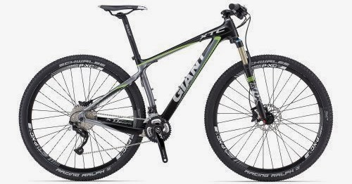 Giant XtC Composite 29er 1 grey/green (2013) (Frame size ...