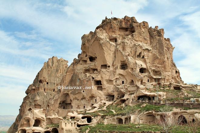 Uçhisar Castle, Cappadocia