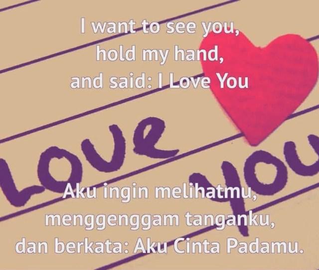 Kata Kata Cinta Romantis Bahasa Inggris Dan Terjemahannya