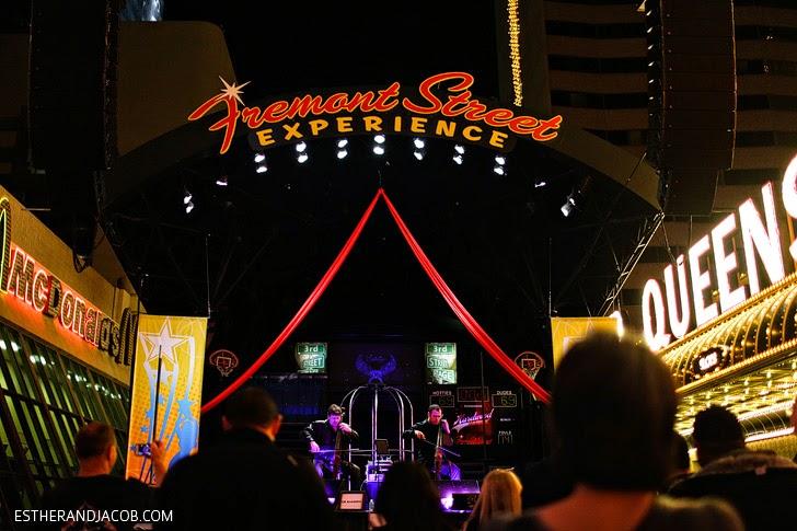 The Fremont Experience Las Vegas.