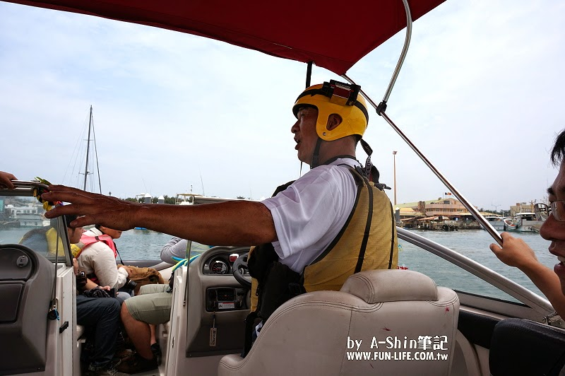 台中梧棲港搭遊艇21